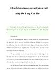 Chuyển biến trong suy nghĩ của người nông dân Làng Kim Lân