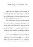 Lê Hữu Trác qua bài Vào phủ chúa Trịnh