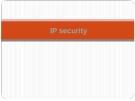 """Chương 8 """" Bảo mật trong mô hình TCP/IP"""""""