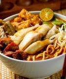 Khám phá món ngon ẩm thực Malaysia