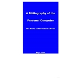 a bibliography of the personal computer electronic resource