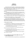 Chương 13: THIẾT BỊ SẤY