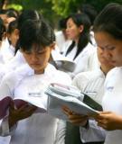 ĐÁP ÁN - THANG ĐIỂM ĐỀ THI TUYỂN SINH ĐẠI HỌC, CAO ĐẲNG NĂM 2006 Môn: SINH HỌC, khối B