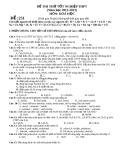 ĐỀ THI THỬ ĐẠI HỌC MÔN HÓA NĂM 2012-2013 Đề Số 251