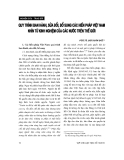 """Báo cáo """"   Quy trình ban hành,sửa đổi, bổ sung các hiến pháp Việt Nam nhìn từ kinh nghiệm của các nước trên thế giới """""""