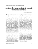 """Báo cáo """" Khái niệm nhà đầu tư theo quy định của pháp luật chứng khoán và pháp luật doanh nghiệp Việt Nam """""""