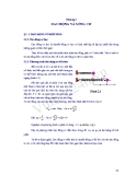 Chương 2: Dao động và sóng cơ - Môn: Vật lý đại cương