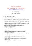 Bài 10. Không gian vectơ