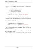 Chương 4: Lý thuyết tập mờ & Logic mờ