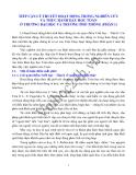 TIẾP CẬN LÝ THUYẾT HOẠT ĐỘNG TRONG NGHIÊN CỨU VÀ THỰC HÀNH DẠY HỌC TOÁN Ở TRƯỜNG ĐẠI HỌC VÀ TRƯỜNG PHỔ THÔNG (PHẦN 1)