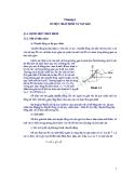 Chương 1: Cơ học chất điểm và chất rắn - Vật lý đại cương