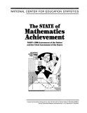 the state of mathematics achievement