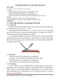 Những kiến thức cơ bản về hàn khí (9LT)
