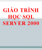 Giáo trình học SQl Server 2000