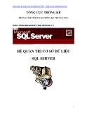 """Giáo trình Microsoft """" Hệ quản trị cơ sở dữ liệu SQL server"""""""