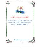 luận văn: THỰC TRẠNG CÔNG TÁC TỔ CHỨC ĐẤU THẦU TẠI BAN QUẢN LÝ DỰ ÁN LƯỚI ĐIỆN HÀ NỘI