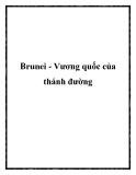 Brunei - Vương quốc của thánh đường