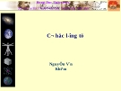 Bài giảng cơ học lượng tử - Nguyễn Văn Khiêm : Bài 20