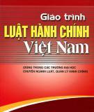 Giáo trình Luật hành chính Việt Nam: Phần 2 - Phan Trung Hiền