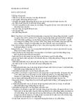 Bài tập dân sự về thừa kế  MÔN LUẬT DÂN SỰ