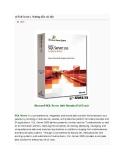 Microsoft SQL Server 2005 Standard Full Crack