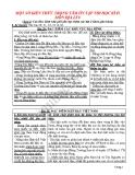 MỘT SỐ KIẾN THỨC TRỌNG TÂM ÔN TẬP THI HỌC KÌ II  MÔN ĐỊA LÍ 8