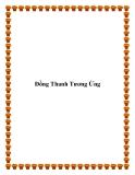 Truyện ngắn Đồng Thanh Tương Ứng