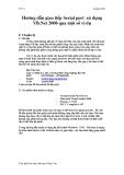 Hướng dẫn giao tiếp Serial port sử dụng VB.Net 2008 qua một số ví dụ