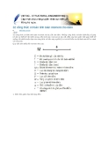 32 công thức cơ bản tính toán mômen cho dầm