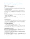 Địa lí 12 bài 14: Vấn đề sử dụng và bảo vệ tự nhiên