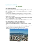 Địa lí 12 bài 18: Đô thị hóa