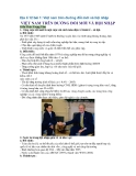 Địa lí 12 bài 1: Việt nam trên đường đổi mới và hội nhập