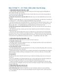 Địa lí 12 bài 11 – 12: Thiên nhiên phân hóa đa dạng