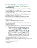 Địa lí 12 bài 21: Đặc điểm nền nông nghiệp nước ta