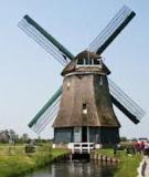 Khám phá những chiếc cối xay gió cổ ở Hà Lan
