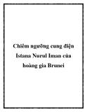 Chiêm ngưỡng cung điện Istana Nurul Iman của hoàng gia Brunei