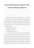 Đóng vai người cháu kể lại kỉ niệm tình bà cháu trong bài thơ Bếp lửa của Bằng Việt