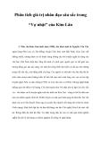 """Phân tích giá trị nhân đạo sâu sắc trong """"Vợ nhặt"""" của Kim Lân"""
