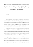 Phân tích vẻ đẹp của tình người và niềm hi vọng vào cuộc sống ở các nhân vật: Tràng, người vợ nhặt, bà cụ Tứ trong truyện ngắn Vợ nhặt (Kim Lân)