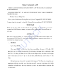 Luận văn:Chiến lược kinh doanh ngành thủy sản Cà Mau giai đoạn nay đến 2020