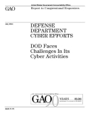 defense department cyber efforts
