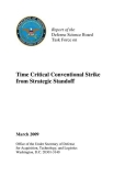 time critical conventional strike from strategic standoff