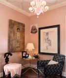 """""""Khoác áo"""" hồng quyến rũ cho ngôi nhà ấm bừng ngày đông"""