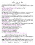 ĐỀ ÔN LUYỆN THI ĐẠI HỌC ĐỀ SỐ 1 -  Môn Sinh Học
