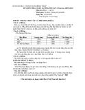 Đề kiểm tra chất lượng học kỳ I năm học 2009 - 2010