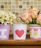 Tăng lãng mạn cho ngôi nhà từ chiếc cốc giấy