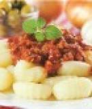 Khoai tây xốt bò băm
