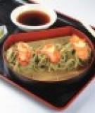 Salad gà chiên xốt teriyaki
