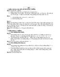 Đề và đáp án thi thử đại học môn toán - Đề số 2