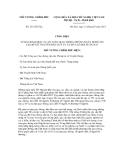 Quyết định số 231/CĐ-TTg